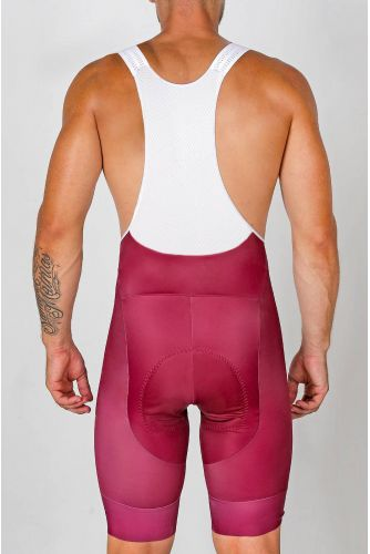 BERRY RED BIB SHORT CE2529H