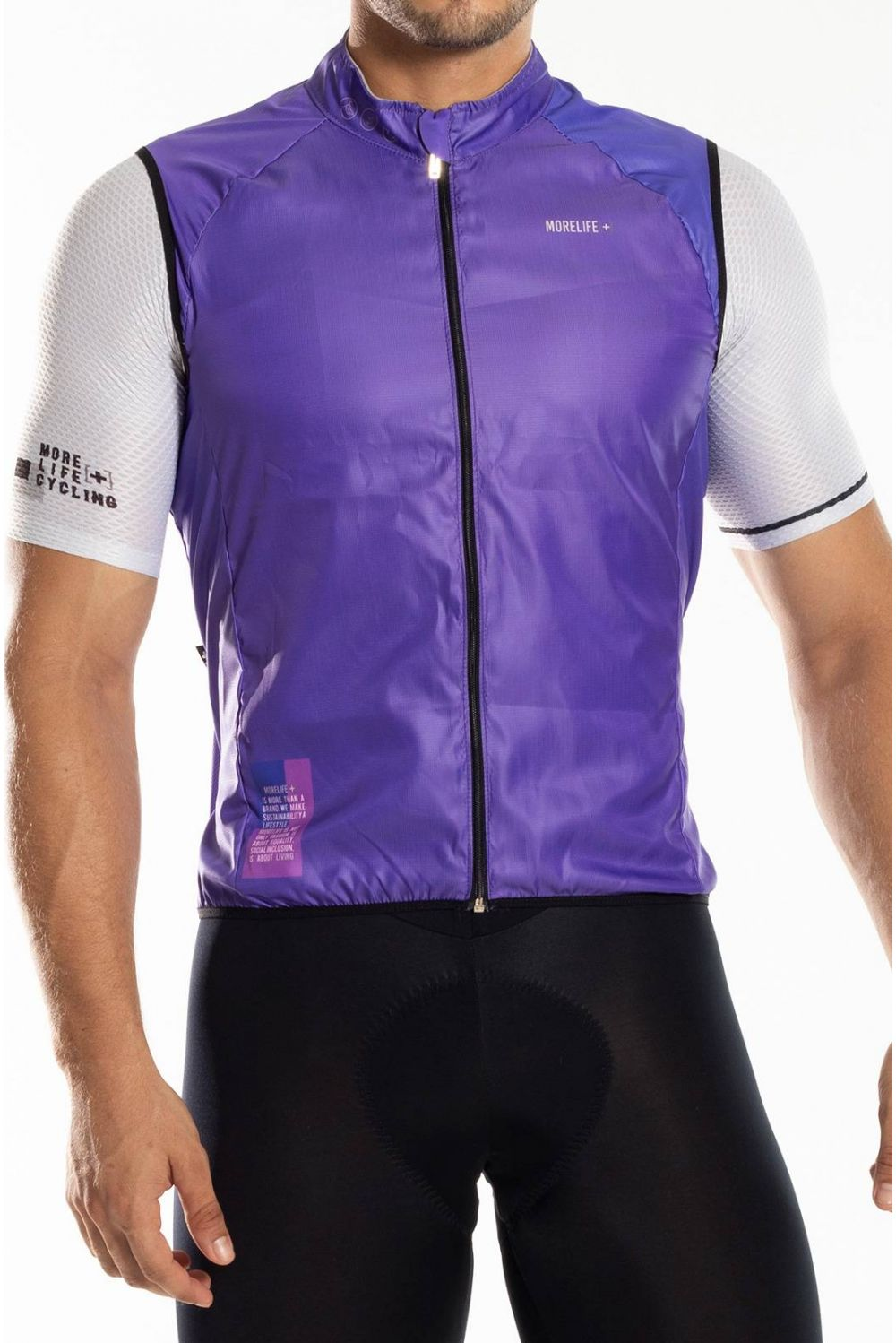 ORCHID PURPLE WINDBREAKER VEST CH003H