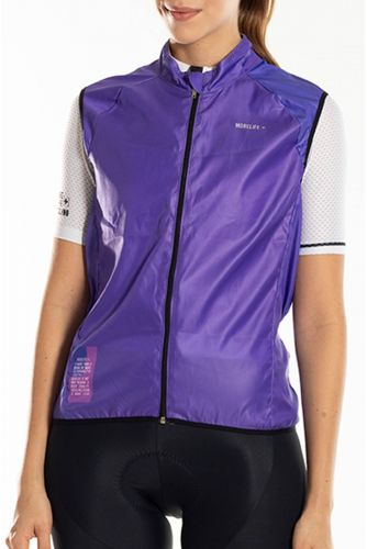 ORCHID PURPLE WINDBREAKER VEST