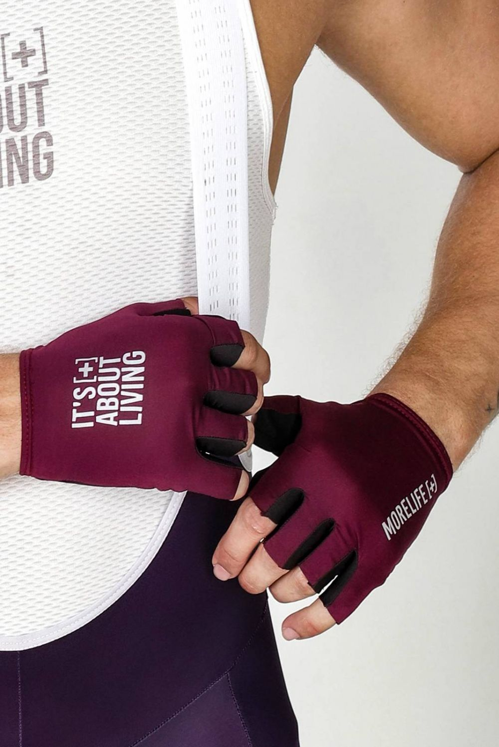 GUANTES BERRY RED