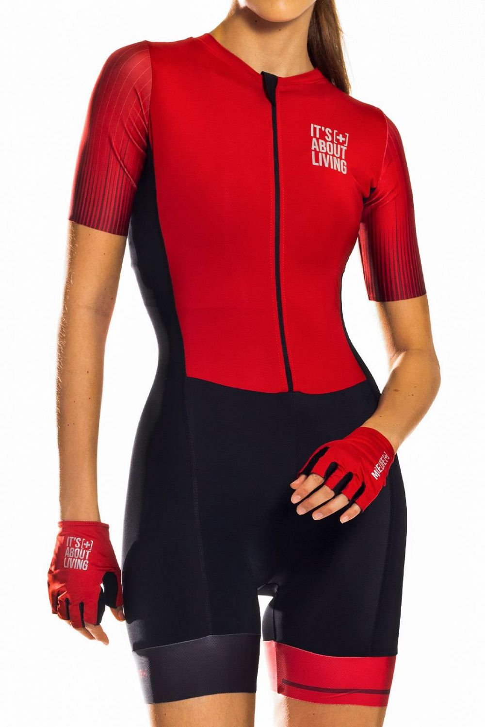 RED SPEEDSUIT C13155