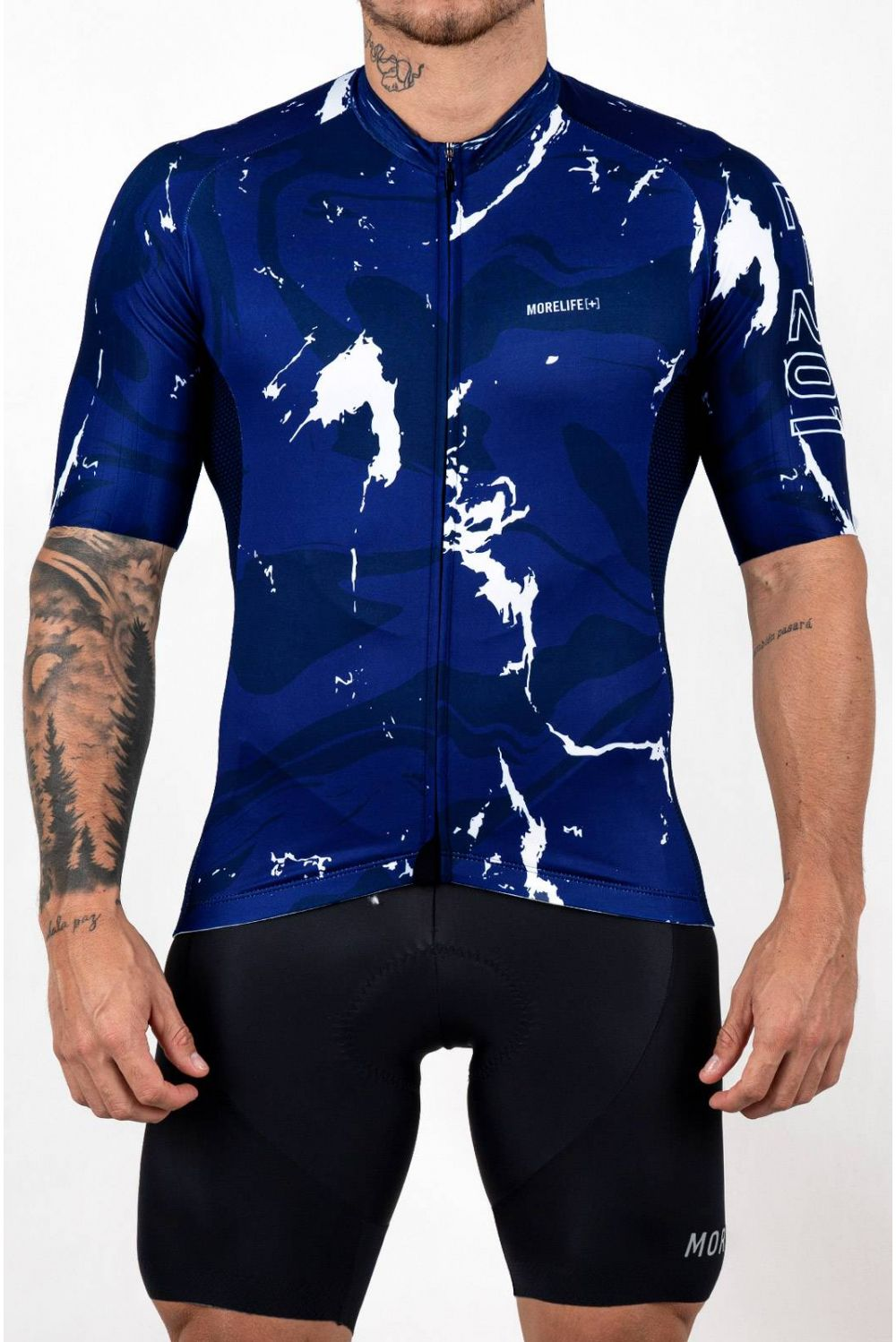 ACTIVE BLUE MARBLE JERSEY BC2227H