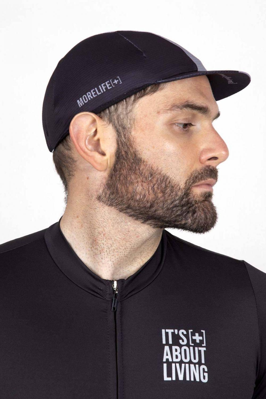 Black Cycling Cap GC004