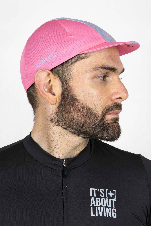 Light Pink Cycling Cap GC005