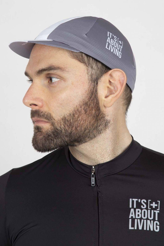 Light Grey Cycling Cap GC006