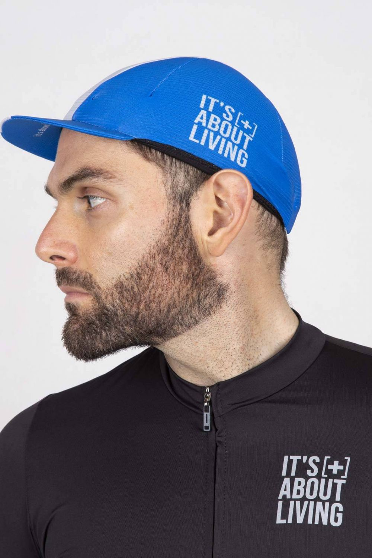 Blue Cycling Cap GC009