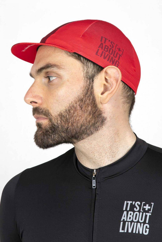 Red Cycling Cap GC001